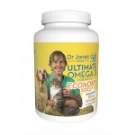 Dr. Jones' Ultimate Omega 3 Formula for Dogs and Cats Economy Size (180 Softgels)